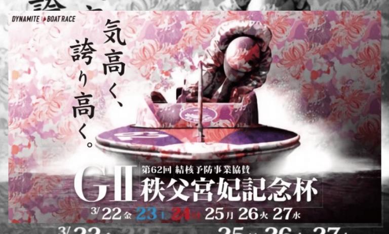 びわこ競艇:G2秩父宮妃注目情報,選手,モーター,水面2020/03/22~27