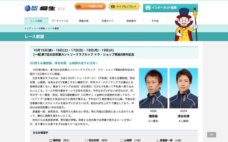 第7回太田双葉CCカップDS開設8周年記念アイキャッチ
